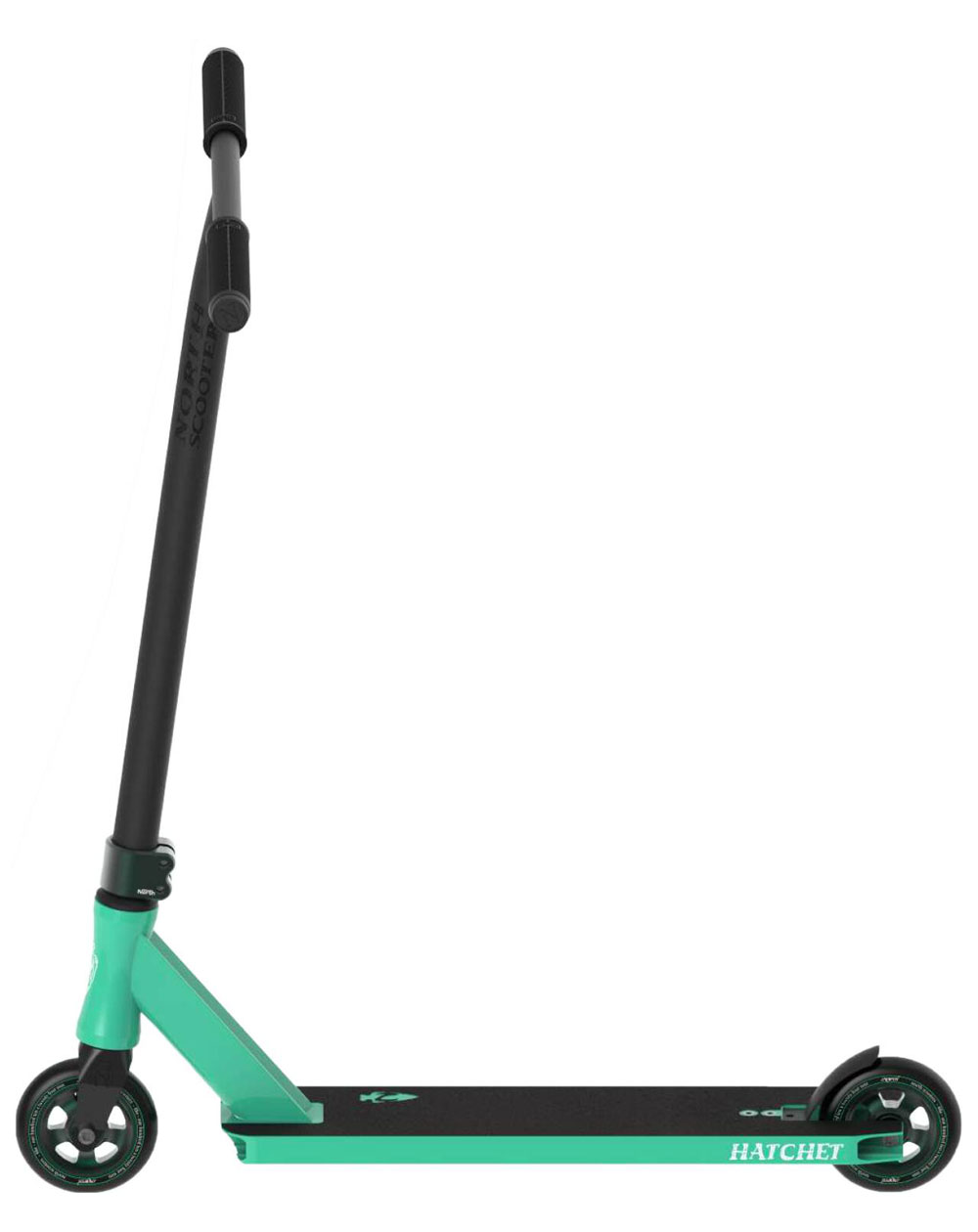 North Scooters Trottinette Freestyle Hatchet 2020 Seafoam/Forest