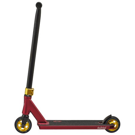 North Scooters Hatchet 2020 Stunt Scooter Wine Red/Gold