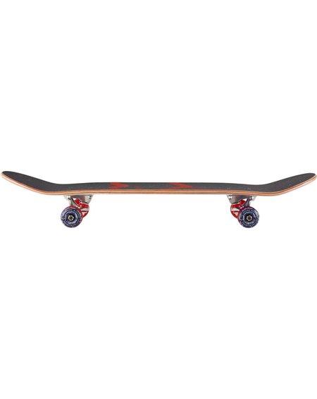 "Blueprint Skateboard Spray Heart V2 8.00"" Red/Blue"