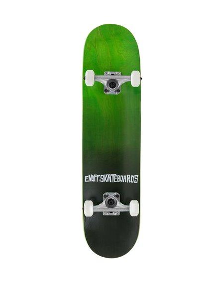 """Enuff Skateboard Completo Fade 7.75"""" Green"""