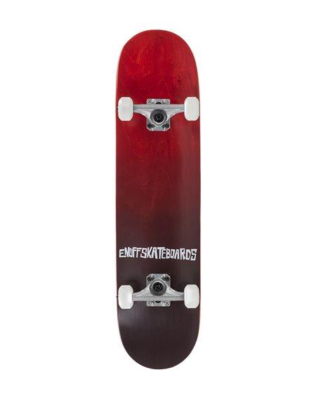 """Enuff Skateboard Completo Fade 7.75"""" Red"""