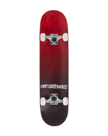 "Enuff Skateboard Fade 7.75"" Red"