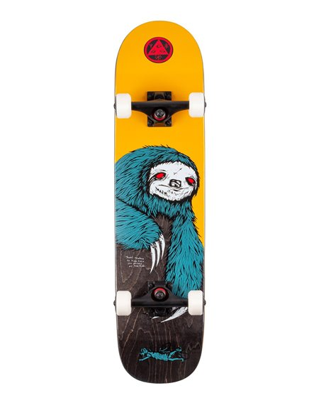 "Welcome Skateboard Completo Sloth 7.75"""
