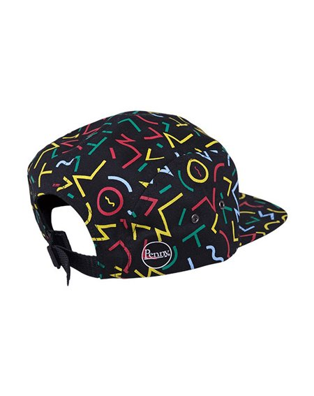 Penny Men's 5 Panels Baseball Cap Bel Air Black