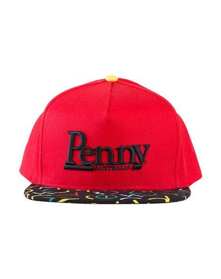 Penny Bel Air Gorra de Béisbol Snapback para Hombre Red