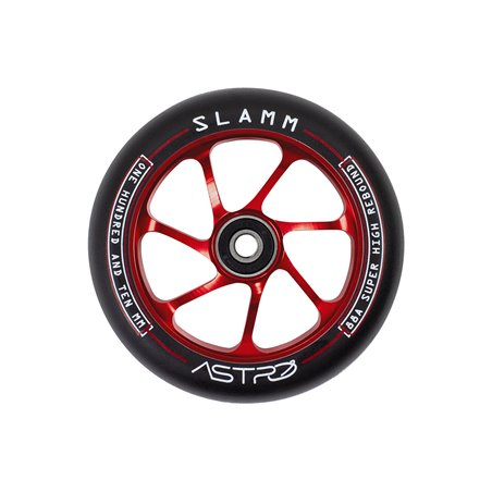 Slamm Scooters Astro 110mm Scooter Wheel Red