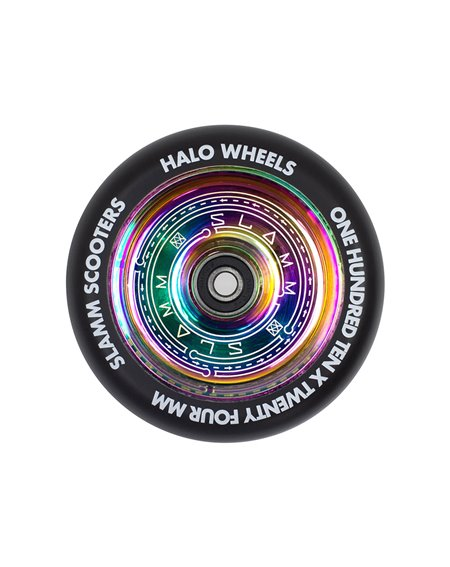 Slamm Scooters Neochrome 110mm Halo Deep Dish Scooter Wheel