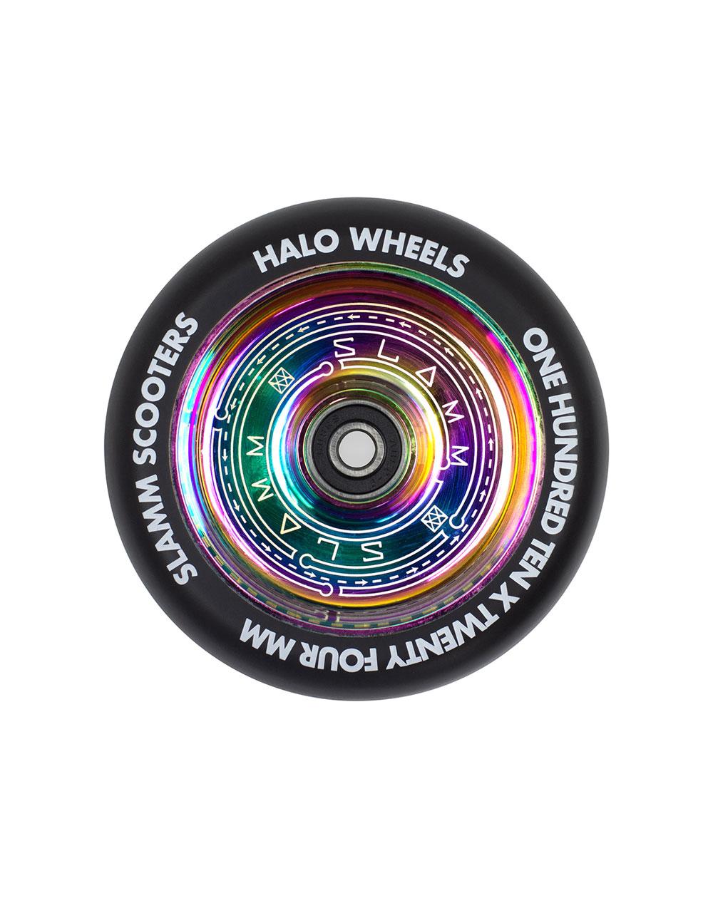 Slamm Scooters Ruota Monopattino Neochrome 110mm Halo Deep Dish