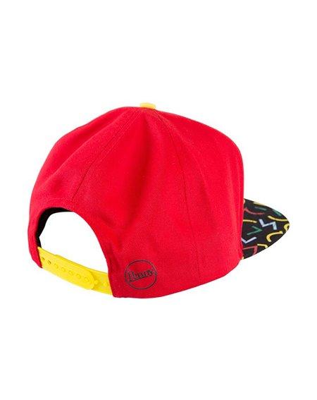 Penny Men's Snapback Baseball Cap Bel Air Red
