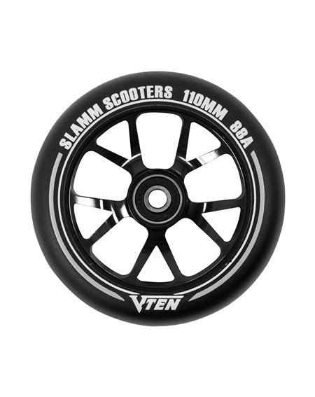 Slamm Scooters V-Ten II 110mm Scooter Wheel Black