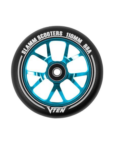Slamm Scooters Rueda Patinete V-Ten II 110mm Blue