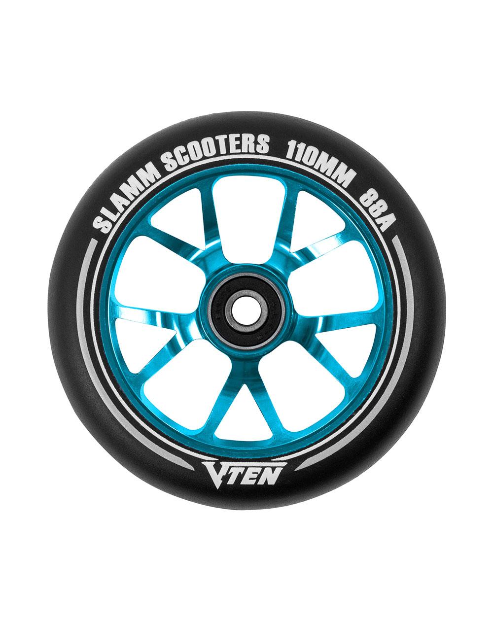 Slamm Scooters Roue Trottinette V-Ten II 110mm Blue