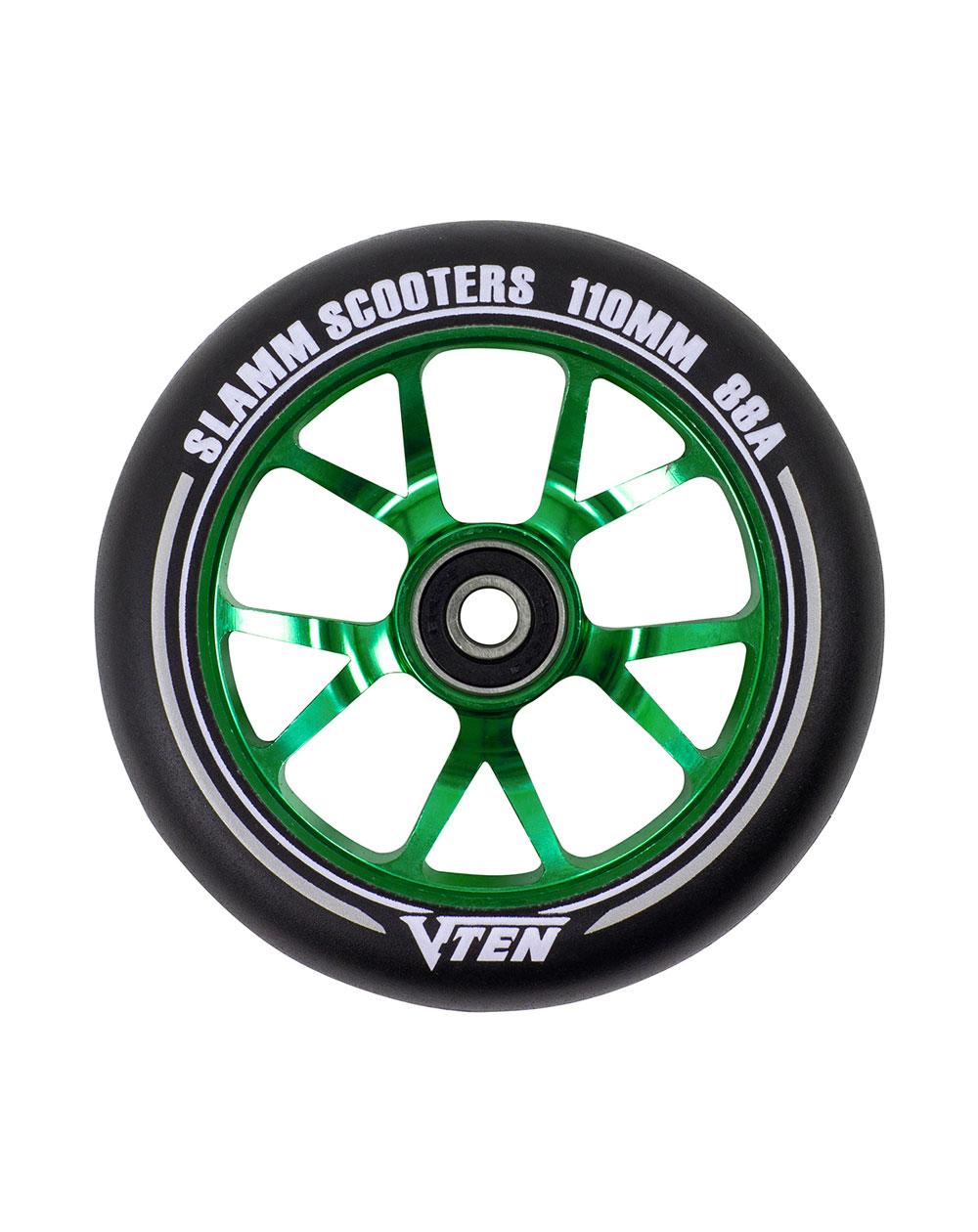 Slamm Scooters Roue Trottinette V-Ten II 110mm Green