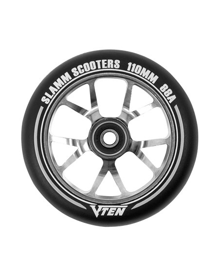 Slamm Scooters V-Ten II 110mm Scooter Wheel Titanium