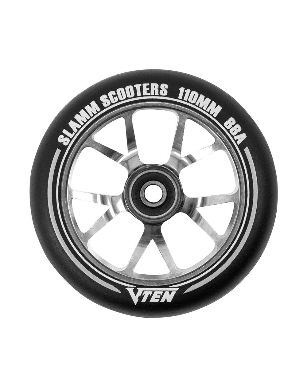Slamm Scooters V-Ten II 110mm Scooter Wheel Titanium