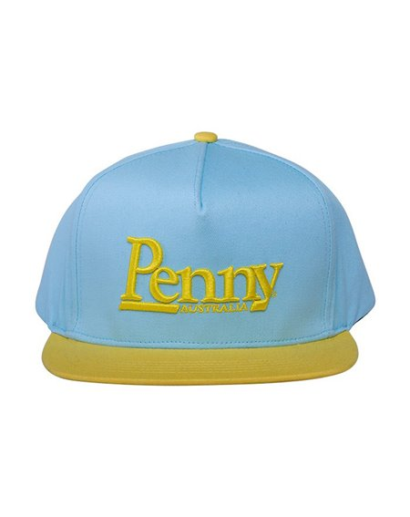 Penny Men's Snapback Baseball Cap Logo Blue/Yellow