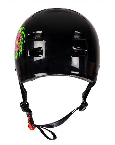Bullet Safety Gear Bullet x Slime Balls Slime Logo Skateboard Helmet Black