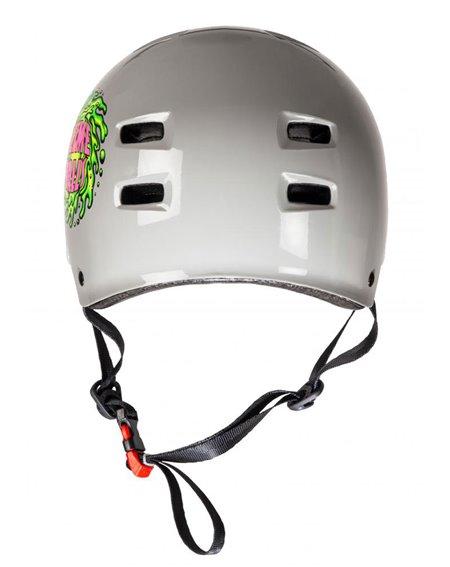 Bullet Safety Gear Casque Skateboard Bullet x Slime Balls Slime Logo Grey