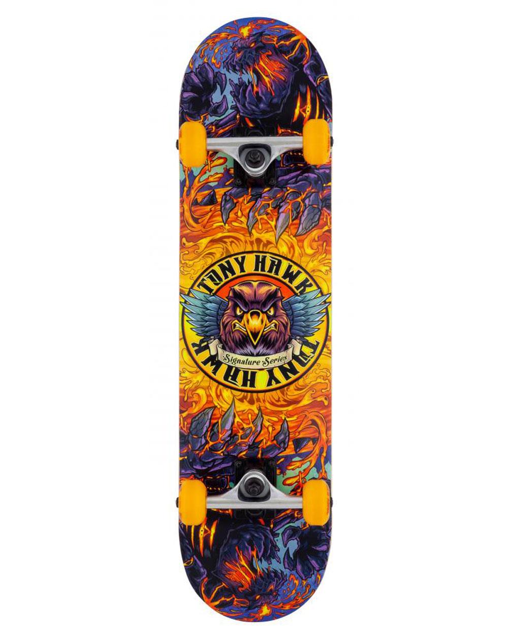 "Tony Hawk Lava 7.75"" Complete Skateboard"