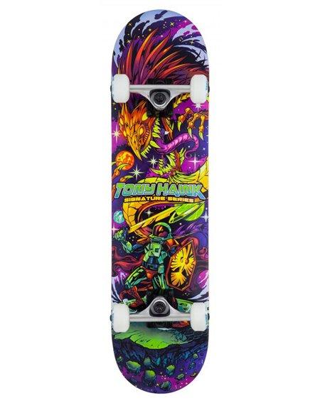 "Tony Hawk Skateboard Completo Cosmic 7.75"""
