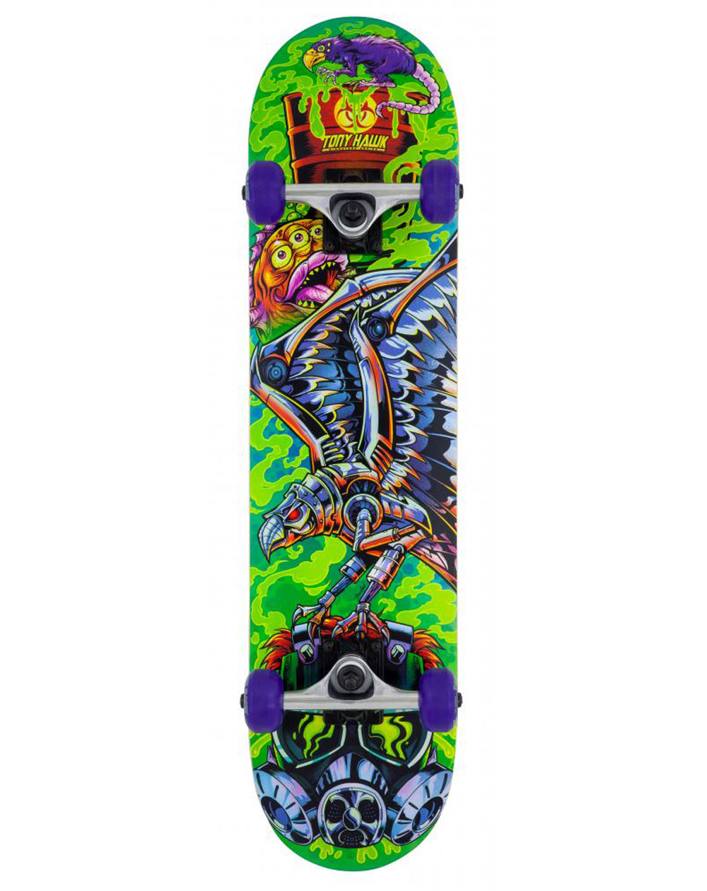 "Tony Hawk Toxic 7.50"" Complete Skateboard"