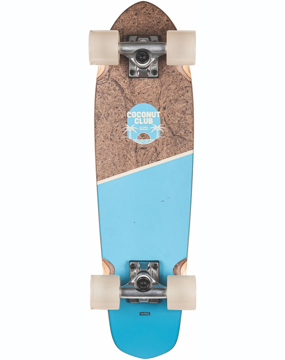 Globe Blazer Skateboard Cruiser Coconut/Sky