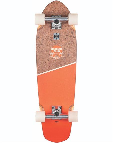 Globe Big Blazer Skateboard Cruiser Coconut/Mandarin