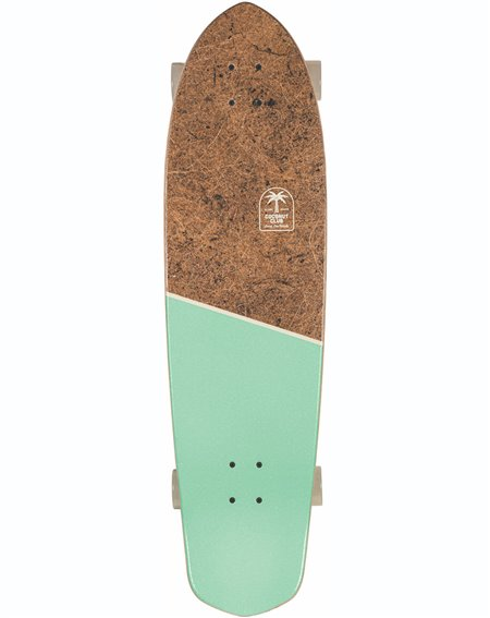 Globe Blazer XL Skateboard Cruiser Coconut/Lime