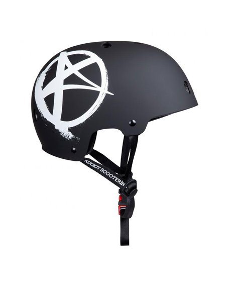 Addict Casco Logo Matte Black