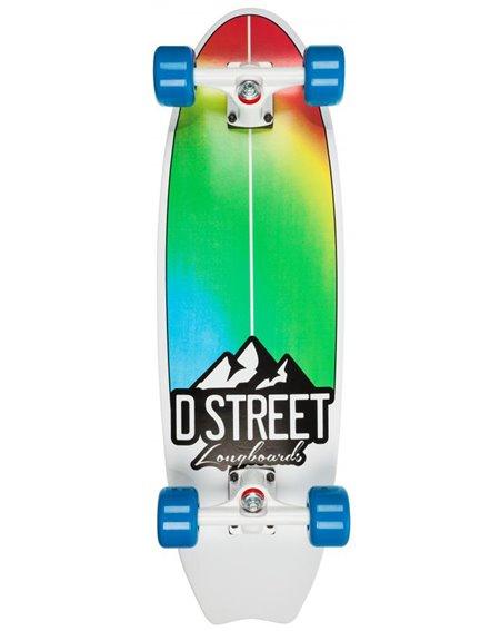 D-Street Stubby Fade 29-inch Skateboard Cruiser