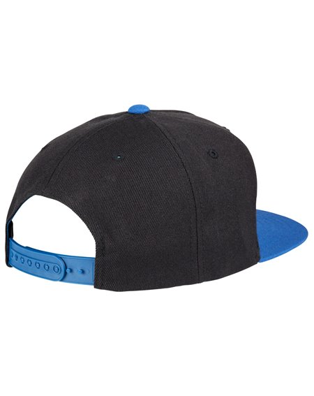 Santa Cruz Herren 5 Panel Baseball Cap Voltage Colour Black/Strong Blue