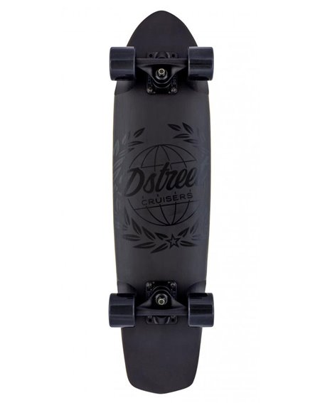 D-Street Atlas Skateboard Cruiser Black