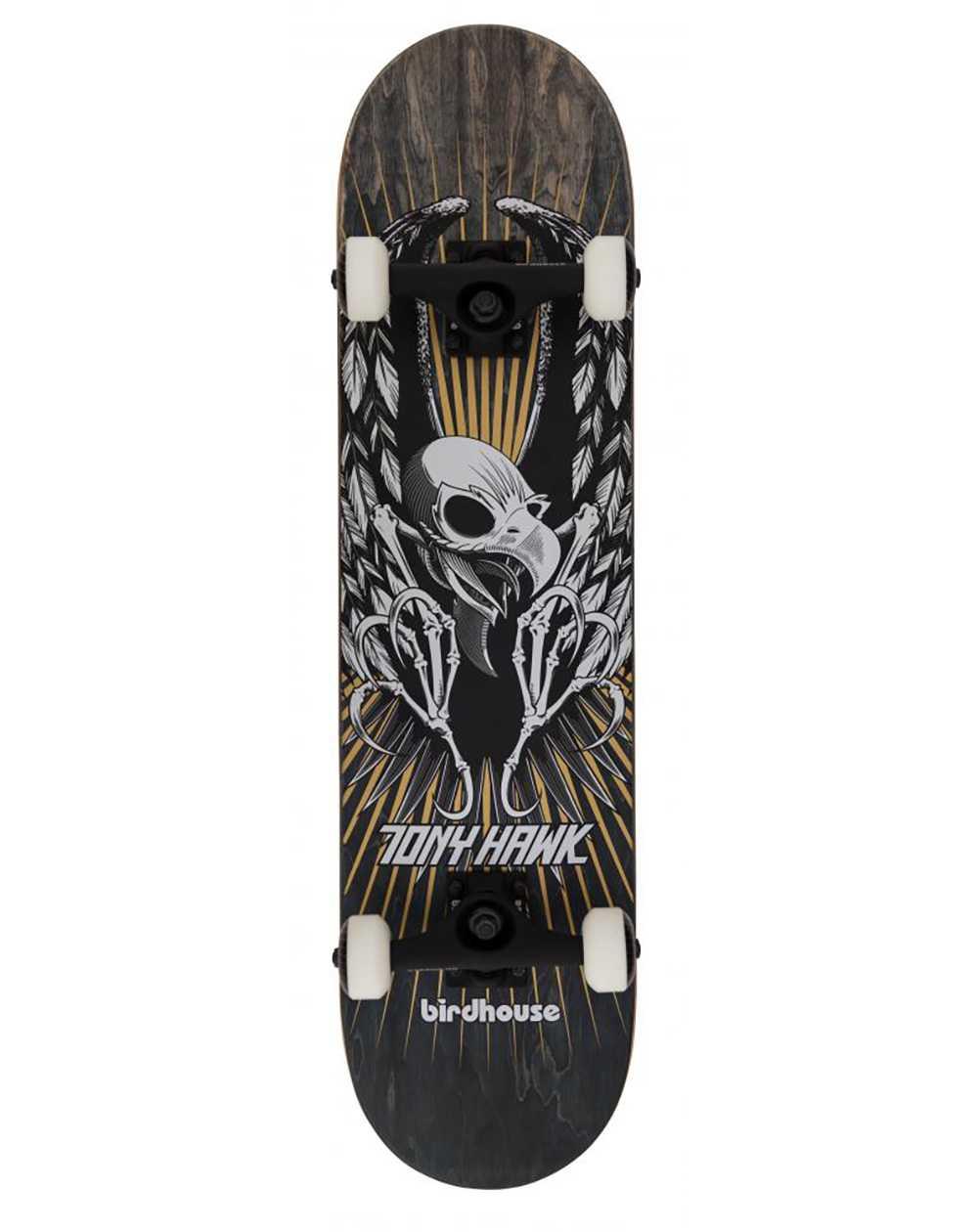 """Birdhouse Skateboard Complète Hawk Wing 7.75"""" Black"""