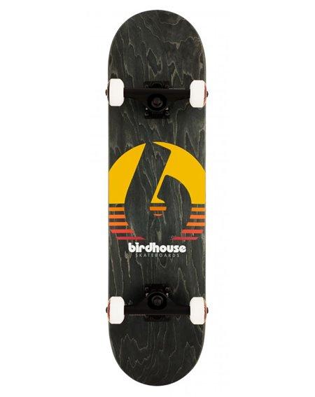 """Birdhouse Sunset 8.00"""" Komplett-Skateboard Black"""