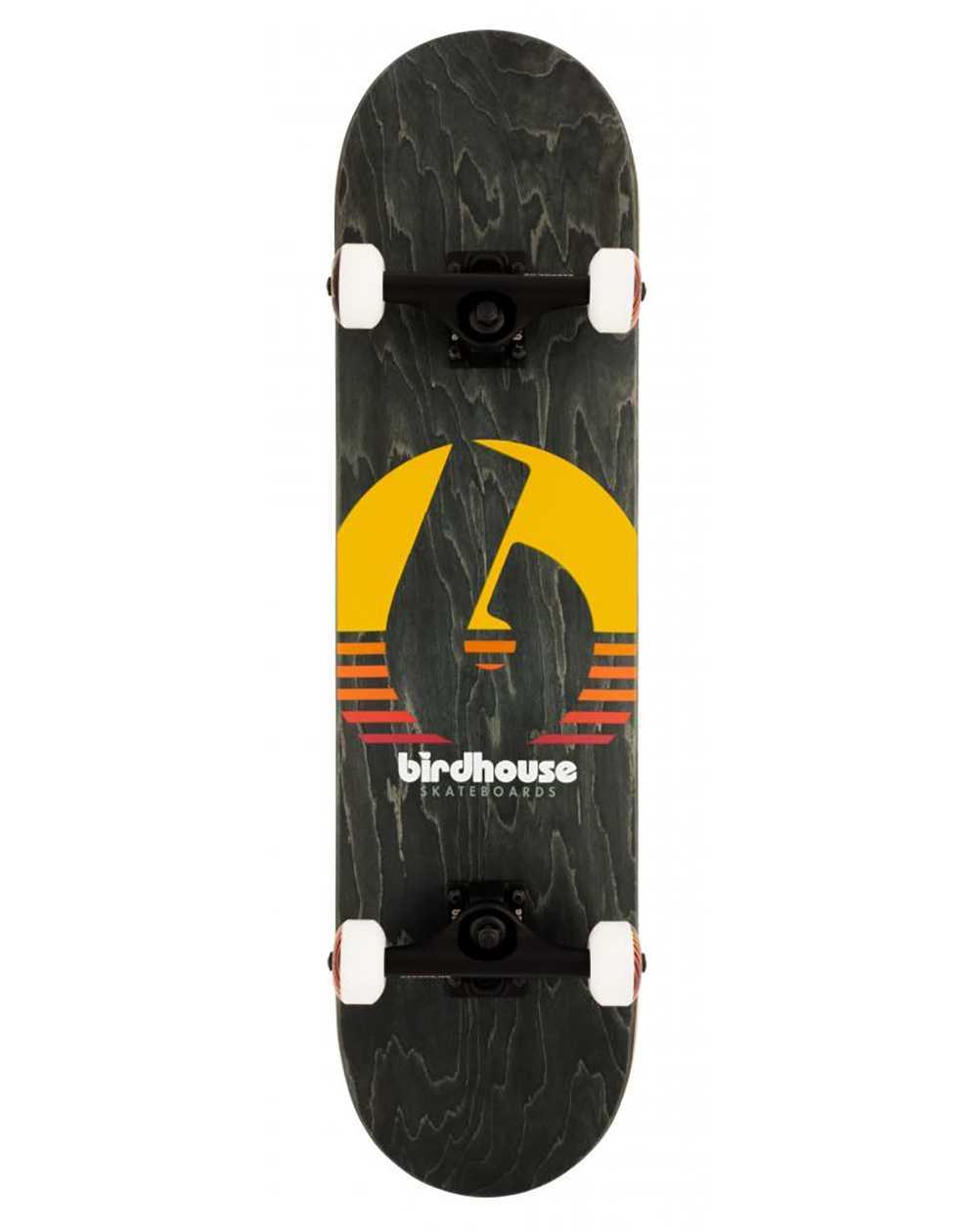 """Birdhouse Skateboard Sunset 8.00"""" Black"""