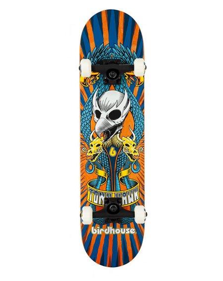 """Birdhouse Skateboard Complète Emblem Circus 7.75"""" Orange"""