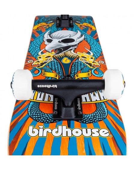 "Birdhouse Emblem Circus 7.75"" Complete Skateboard Orange"