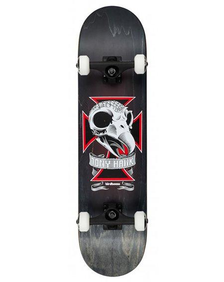 "Birdhouse Skull 2 8.125"" Complete Skateboard Black"
