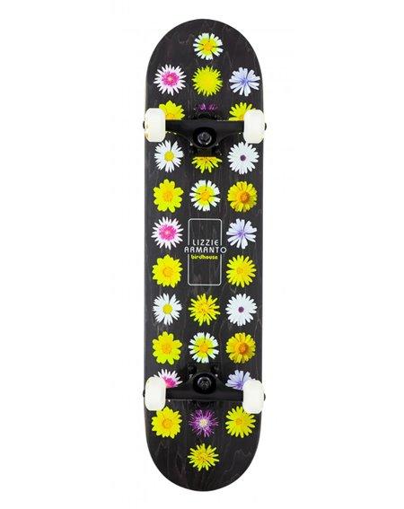 "Birdhouse Armanto Floral 7.75"" Complete Skateboard Black"