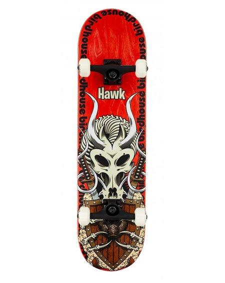 "Birdhouse Skateboard Complète Hawk Gladiator 8.125"" Red"