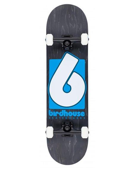 "Birdhouse Skateboard Completo B Logo 8.00"" Black/Blue"
