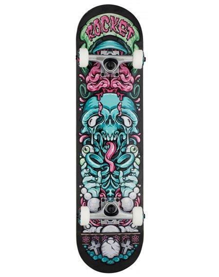 """Rocket Skateboard Bones Pile-up 7.75"""""""