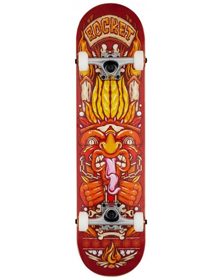 "Rocket Chief Pile-up 7.75"" Complete Skateboard"