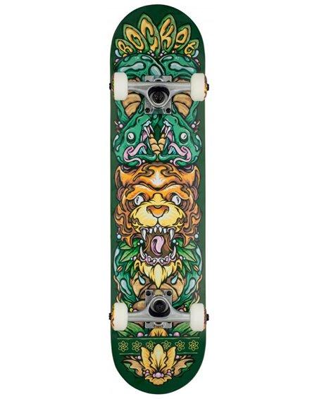 "Rocket Skateboard Wild Pile-up 7.50"""