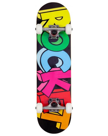 Rocket Skateboard Completo Blocks Mini 7.50""