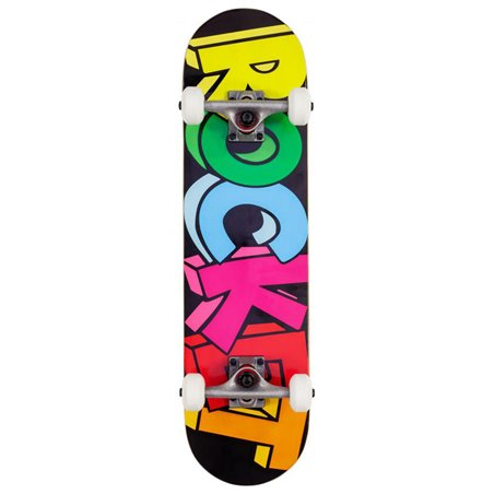 "Rocket Blocks Mini 7.50"" Complete Skateboard"