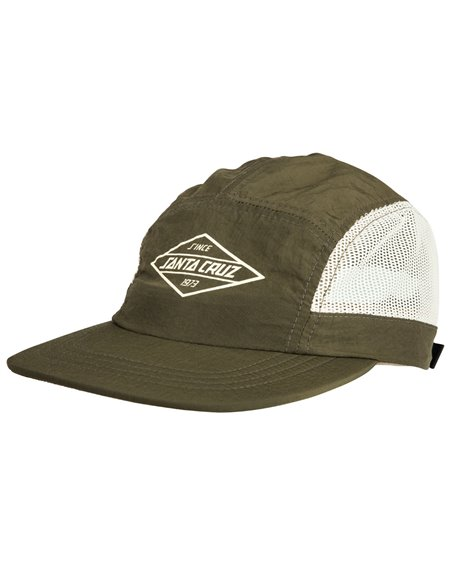 Santa Cruz Men's 5 Panels Baseball Cap Off Shore Sage
