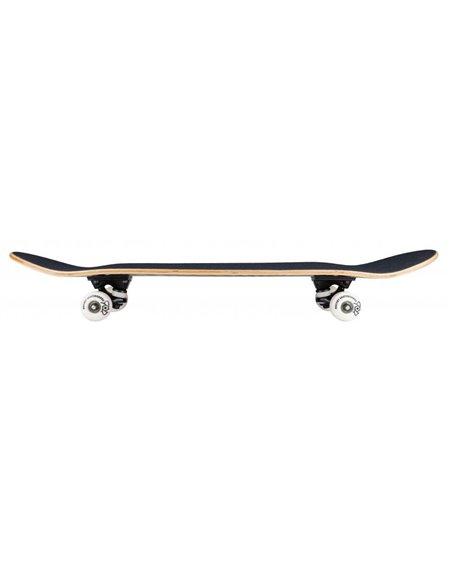 """Rocket Twisted Foil 7.50"""" Complete Skateboard Gold"""