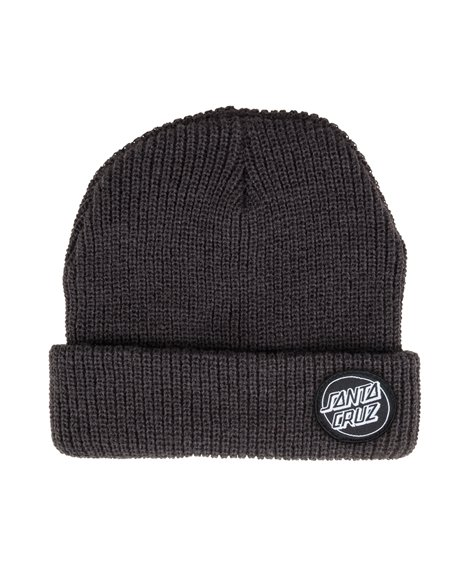 Santa Cruz Outline Dot Gorro de Punto para Hombre Black