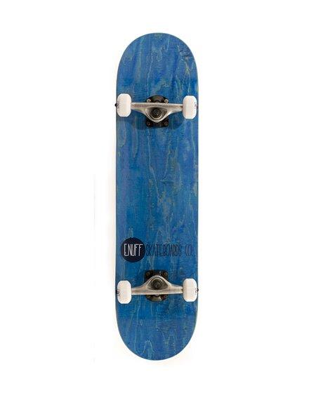 "Enuff Skateboard Completo Logo Stain 8.00"" Blue"